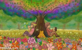 命の森の樹の下で Under the Tree in the Forest of Life