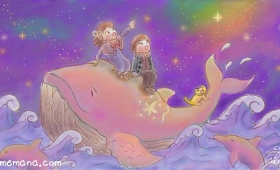 星空のゆめくじら Dream Whale on a Starry Night