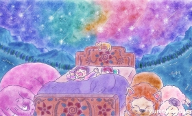 満天ベッド A Bed under the Starry Sky